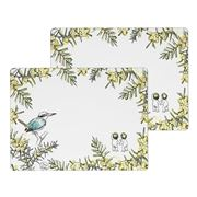 Ecology - May Gibbs Wattle Placemat Set 2pce