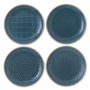 Royal Doulton - Gordon Ramsay Maze Grill Blue Plate Set 16cm