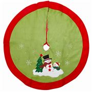 Peter's - Felt Tree Skirt Snowmen 90cm