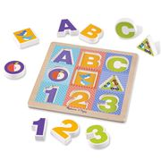 Melissa & Doug - First Play Chunky Puzzle ABC / 123