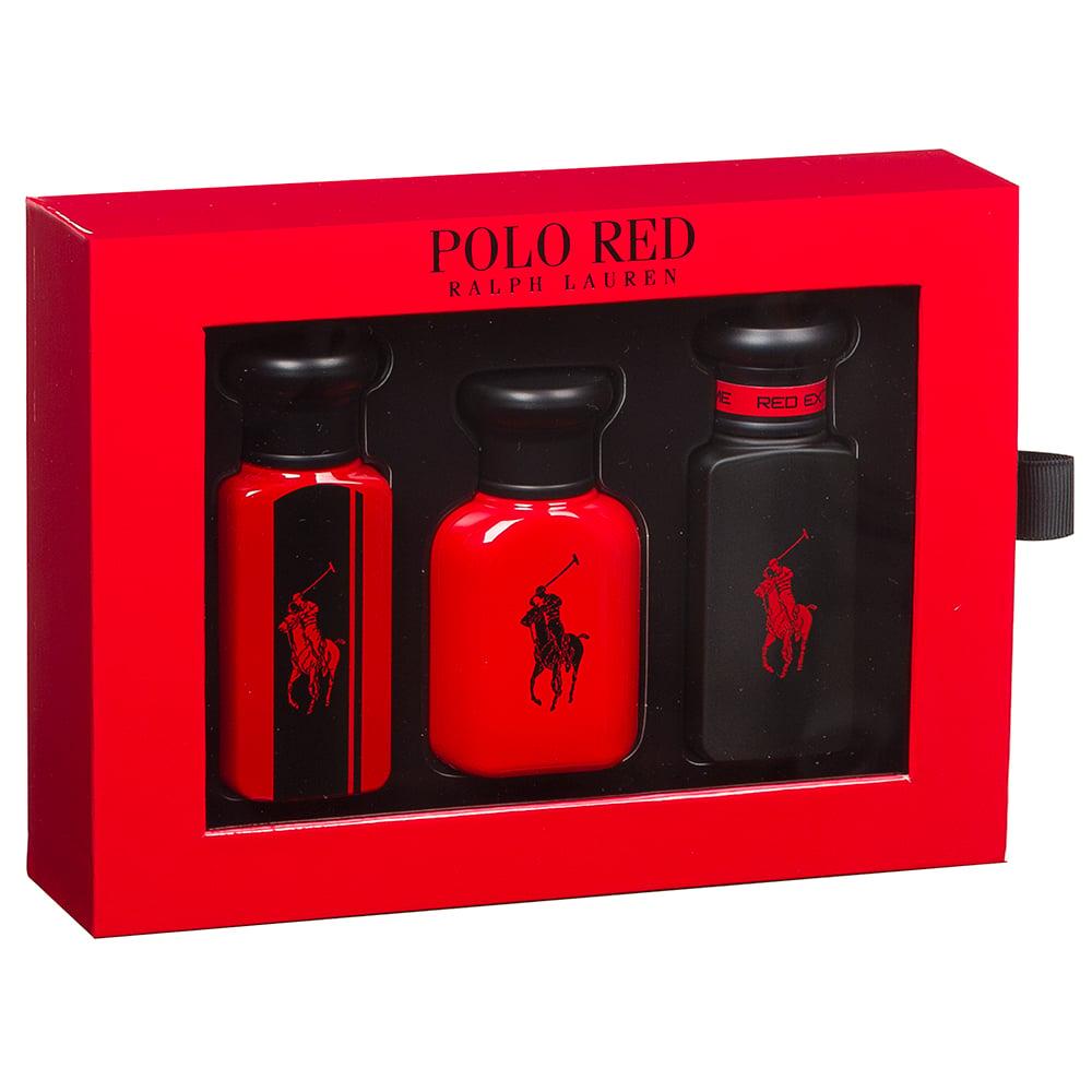 6756f2591 Ralph Lauren - Polo Red Men s Fragrance Gift Box 3pce