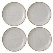 Royal Doulton - Gordon Ramsay Maze Grill Wht Plate Set 16cm