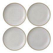 Royal Doulton - Gordon Ramsay Maze Grill Wht Plate Set 22cm