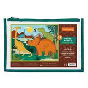 Mudpuppy - Dinosaur Park Pouch Puzzle 12pce