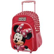 Disney - Minnie Mouse Trolley Backpack Pink