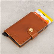 Secrid - Mini Wallet Cognac Brown