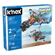 K'Nex - Turbo Jet 2-In-1 Building Set 402pce