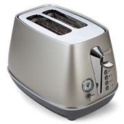 DeLonghi - Distinta Flair Silver Two Slice Toaster