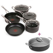 Tefal - Jamie Oliver Premium HA Induction Set 5pc +Pot Roast