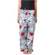 Floressents - Lounge Pants Peony Blue Small