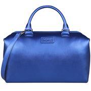 Lipault - Miss Plume Bowling Bag Medium Exotic Blue