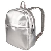 Lipault - Miss Plume X-Small Backpack Silver