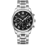 Longines - Master Collection Black Dial S/Steel Chronograph