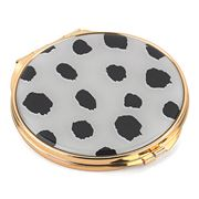 Kate Spade - Boudoir Chic Flamingo Dot Compact Mirror
