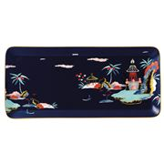 Wedgwood - Wonderlust Blue Pagoda Rectangular Tray