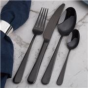 Herdmar - Luxor Cutlery Set Black 24pce