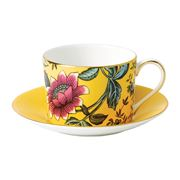 Wedgwood - Wonderlust Yellow Tonquin Cup & Saucer