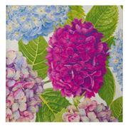 Caspari - Hydrangea Lunch Napkins Garden Blue 20pce