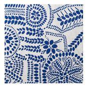 Marimekko - Nasia Lunch Napkin White & Blue 20pce
