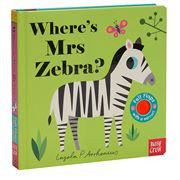 Book - Where's Mrs Zebra?