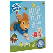 Book - Peter Rabbit Hop To It Sticker Book