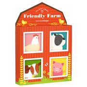 Petitcollage - Friendly Farm Mini Library