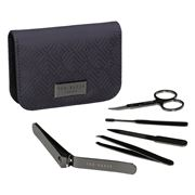 Ted Baker - Manicure Kit Cadet Blue Geo 5pce