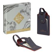 Ted Baker - Luggage Tag Set Cadet Blue Geo 2pce