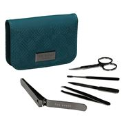 Ted Baker - Manicure Kit Teal Geo 5pce
