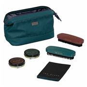 Ted Baker - Shoe Shine Kit Teal Geo
