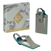 Ted Baker - Luggage Tag Set Ash Grey 2pce