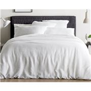 Sheridan - Freemont Pillowcase Set White Standard 2pce