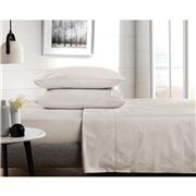 Sheridan - Percale 300 Thread Sheet Set Dove Queen