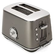 Breville - Toast Select Luxe Toaster BTA735 Smoked Hickory