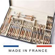 Laguiole - Woods Of France Flatware Set w/Case 28pce