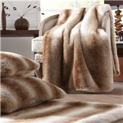 Evelyne Prelonge - Faux Fur Throw Rug Latte