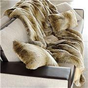 Evelyne Prelonge - Faux Fur Monaco Throw Rug