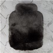 Evelyne Prelonge - Faux Fur Anthrac. Hot Water Bottle Cover