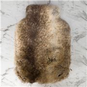 Evelyne Prelonge - Faux Fur Monaco Hot Water Bottle Cover