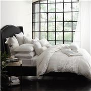 Private Collection - Leyla Quilt Cover Set Queen Ivory