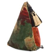 Eastbourne Art - Pyramid Doorstop Watercolour Velvet