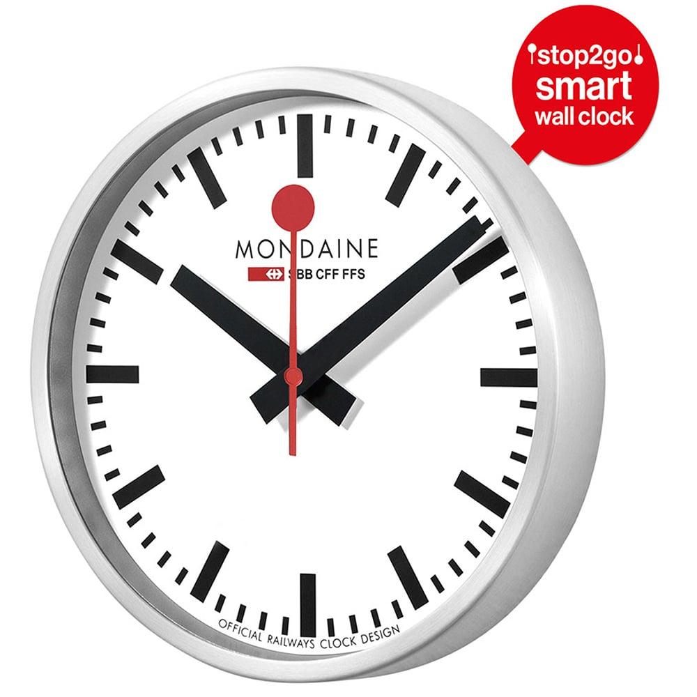 Mondaine Smart Stop2go Wall Clock White Peter S Of
