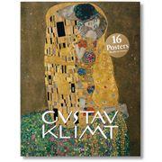 Book - Gustav Klimt 16 Poster Set