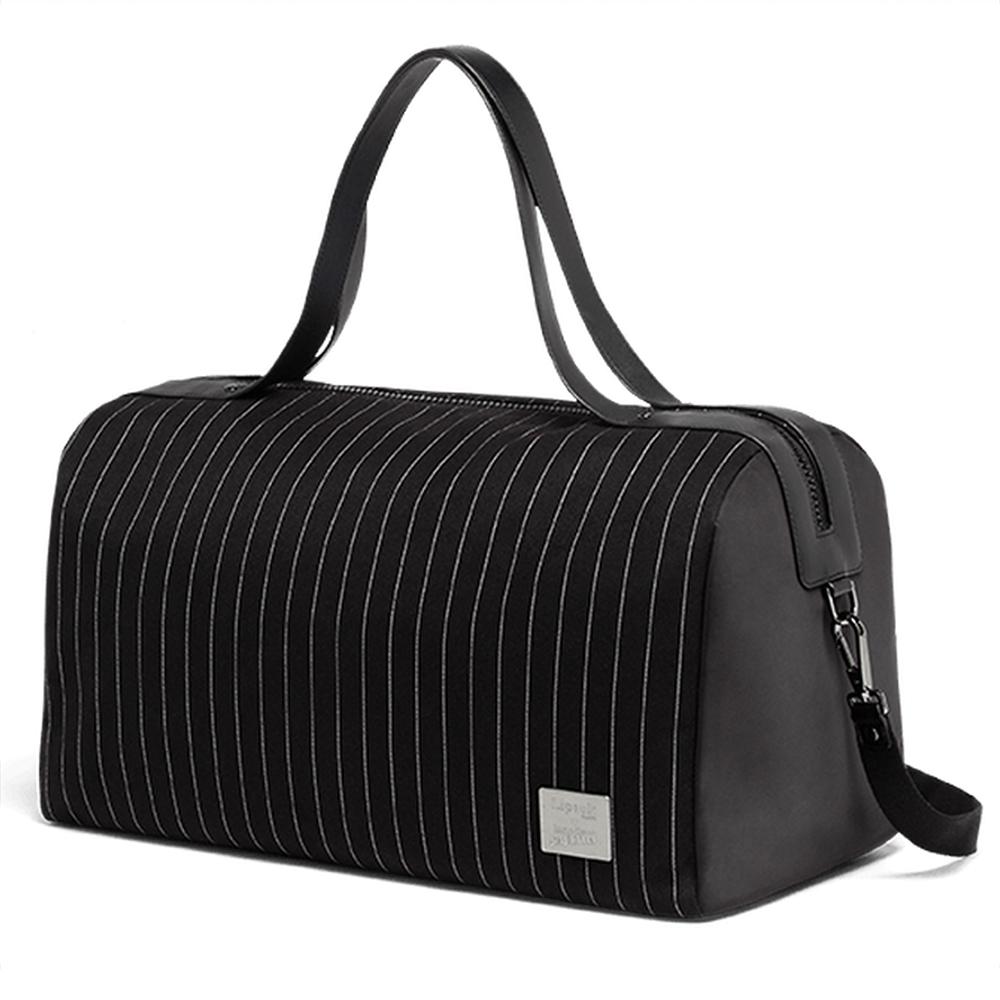 c4164ebfd695 Lipault - J.P Gaultier Collab Ampli Duffle Bag Black
