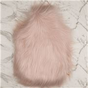 Evelyne Prelonge - Faux Fur Hot Water Bottle Himalaya Blush