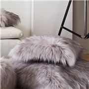 Evelyne Prelonge - Faux Fur Cushion Himalaya Pearl 28x48cm