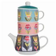 Australiana - Flora Tea For Two Set 3pce