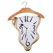 Antartidee - Dress Hanger Clock Gold & White