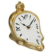 Antartidee - Melting Hours Clock Gold & White