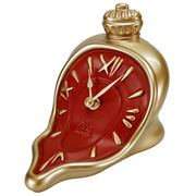 Antartidee - Melting Hours Clock Gold & Red